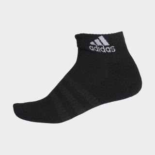 Cushioned Ankle Socks Black / Black / White DZ9368