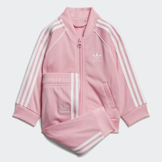 SST Track Suit Light Pink / White FI2756