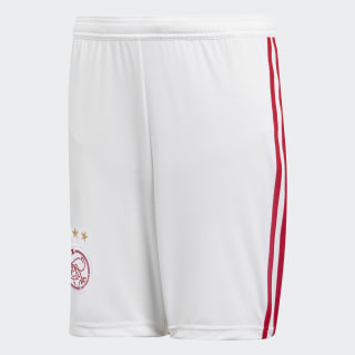 Ajax Amsterdam Home Shorts White / Bold Red CF5469