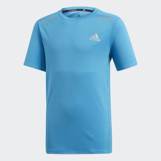 Polera Run Shock Cyan DV2937