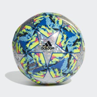 Футбольный мяч Finale Top Capitano multicolor / bright cyan / solar yellow / shock pink DY2564