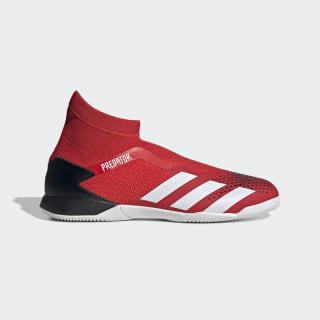 Botas de Futebol Predator 20.3 – Pavilhão Active Red / Cloud White / Core Black EE9572