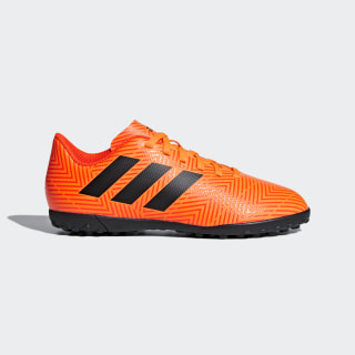 Guayos Nemeziz Tango 18.4 Césped Artificial ZEST/CORE BLACK/SOLAR RED DB2379