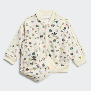 Sushi Track Suit Cream White / Multicolor / Black FM4875