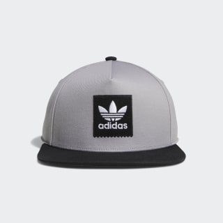 Gorra Two-Tone Trefoil Snapback light granite / black DU8298