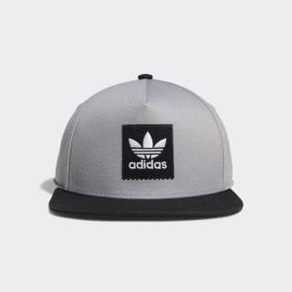 Two-Tone Blackbird Snapback Hat Light Granite / Black DU8298