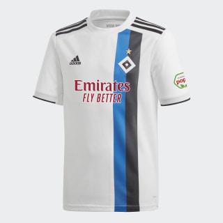 Maillot Hambourg SV Domicile White / Black / Hsv Blue CM3256