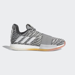 Harden Vol. 3 Shoes Charcoal Solid Grey / Cloud White / Solid Grey G26812