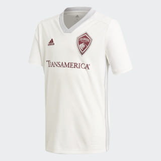 Colorado Rapids Away Jersey Running White / Dark Burgundy DP4851