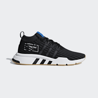 EQT Support Mid ADV Shoes Core Black / Core Black / Bluebird B37413