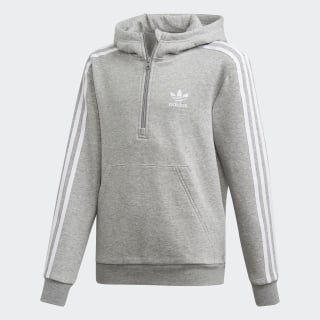 Sudadera con gorro Hoodie Medium Grey Heather / White DV2885