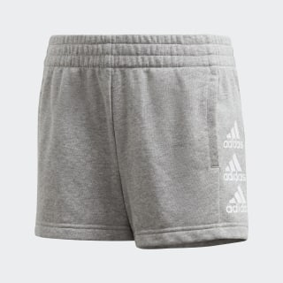 Must Haves Shorts Medium Grey Heather / White FM6502
