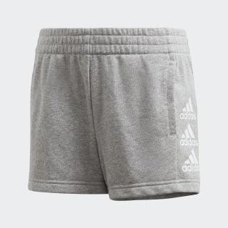 Pantalón corto Must Haves Medium Grey Heather / White FM6502