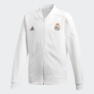 Bluza Real Madryt adidas Z.N.E. Core White / Black CY6108