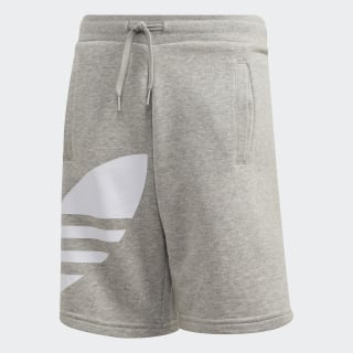Big Trefoil shorts Medium Grey Heather / White FT8814