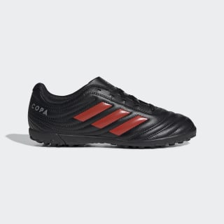 Copa 19.4 Turf Shoes Core Black / Hi-Res Red / Silver Metallic F35458