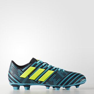 Calzado de Fútbol Nemeziz 17.4 Terreno Flexible LEGEND INK F17/SOLAR YELLOW/ENERGY BLUE S17 S80608