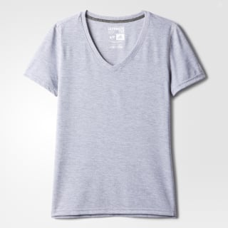 T-shirt col V Ultimate Medium Grey Heather AB1524