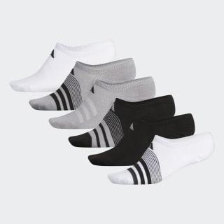 Superlite Super No-Show Socks 6 Pairs White CJ0646