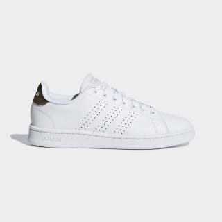 Advantage Shoes Cloud White / Cloud White / Copper Metalic F36223