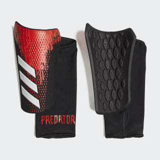 Predator 20 Competition Shin Guards Black / Active Red FR7409