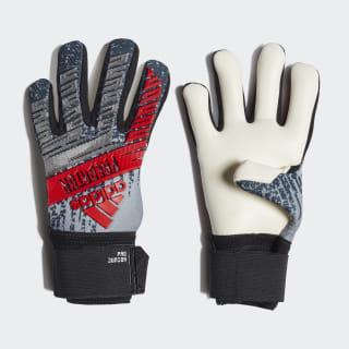 Вратарские перчатки Predator Pro silver met. / black DY2580