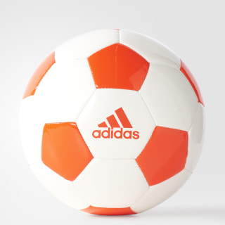 Balón EPP 2 WHITE/SOLAR RED B10544