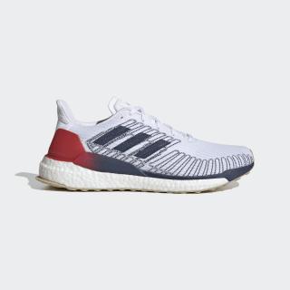 Sapatos Solarboost 19 Cloud White / Tech Indigo / Scarlet EG2362