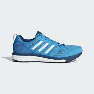 Adizero Tempo 9 Shoes Shock Cyan / Cloud White / Legend Marine B37422