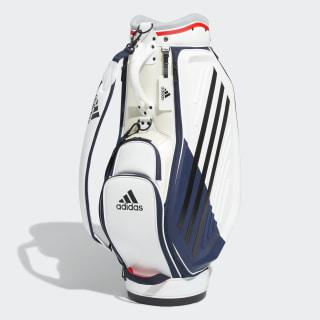 Performance Caddie Bag White / Solar Red FM5512