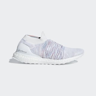 Tenis UltraBOOST LACELESS Ftwr White / Active Red / Active Green B37686