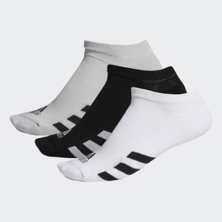 No-Show Socks 3 Pairs Black / Grey Two / White DM6092
