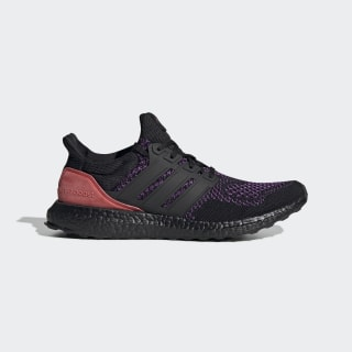Ultraboost Shoes Core Black / Active Purple / Shock Red EE3712