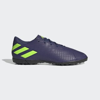 Nemeziz Messi 19.4 Turf Shoes Tech Indigo / Signal Green / Glory Purple EF1805