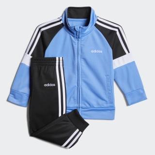 Colorblock Tricot Jacket Set Medium Blue CM5450