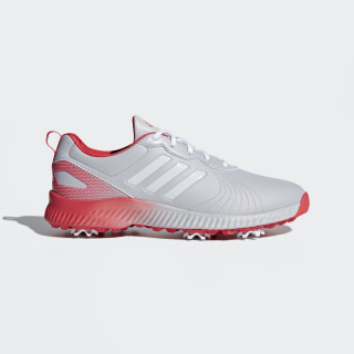 Response Bounce Shoes Grey / Cloud White / Real Coral F33666