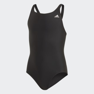Solid Fitness Swimsuit Black DY5923