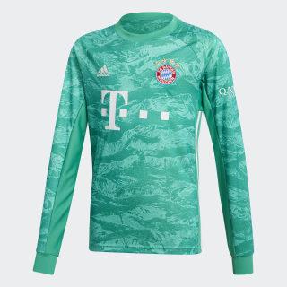 Camiseta portero primera equipación FC Bayern Core Green DX9259