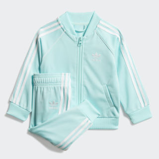 SST Track Suit Clear Aqua / White FM5583
