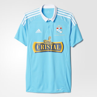 Camiseta de local del Club Sporting Cristal BRIGHT CYAN/WHITE AC5750