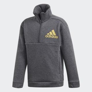 ID Sweatshirt Dark Grey Heather / Gold Metallic ED6407