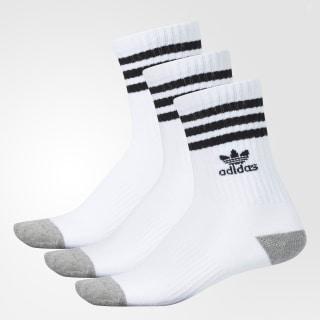Cushioned Crew Socks 3 Pairs Multicolor BH6441