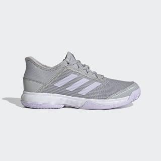 Adizero Club Shoes Grey Two / Purple Tint / Cloud White EH1107