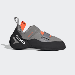 Five Ten Kirigami Climbing Shoes Dove Grey / Core Black / Solar Red EE8948