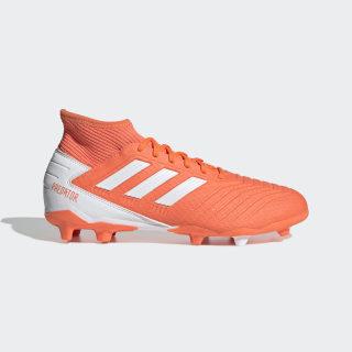 Футбольные бутсы Predator 19.3 FG hi-res coral / ftwr white / glow pink G25819