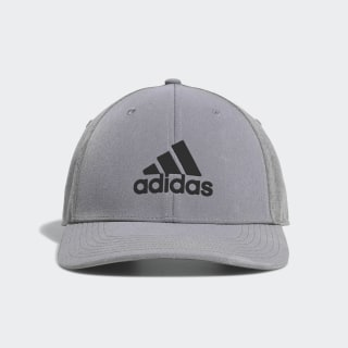 A-Stretch Badge of Sport Tour Cap Grey Two DX0600