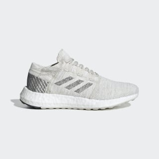 Zapatilla Pureboost Go Non-Dyed / Grey Six / Raw White F34005
