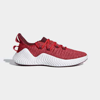 Zapatillas AlphaBOUNCE TRAINER M HI-RES RED S18/NOBLE MAROON/FTWR WHITE AQ0674