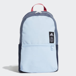 Mochila Classic XS Glow Blue / Tech Ink / White ED8610