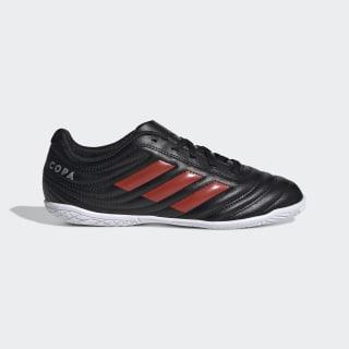 Calzado de Fútbol Copa 19.4 Bajo Techo Core Black / Hi-Res Red / Silver Metallic F35452